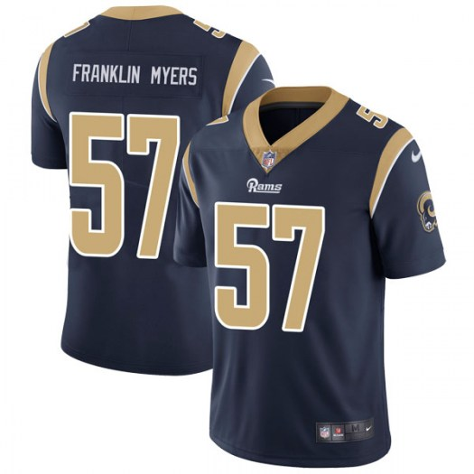 Nike John Franklin-Myers Los Angeles Rams Limited Navy Team Color Vapor Untouchable Jersey - Men's