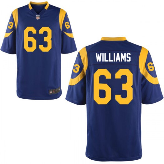 Nike Darrell Williams Los Angeles Rams Game Throwback Jersey - Men's