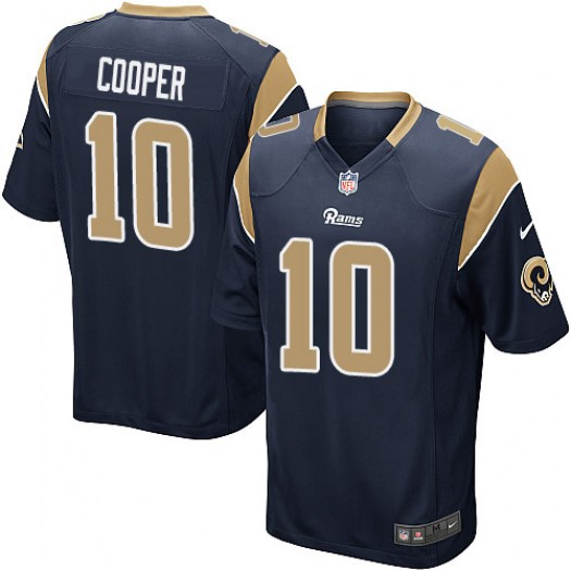 Nike Pharoh Cooper Los Angeles Rams Game Navy Blue Team Color Jersey - Men's